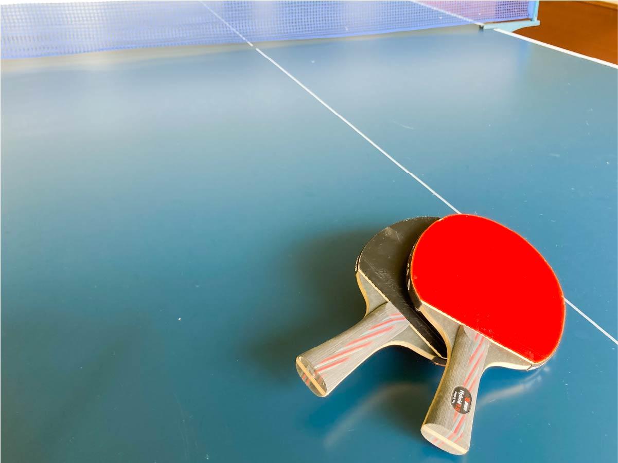 一緒に遊べる卓球